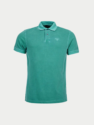 Barbour Washed Sports Polo (Green)