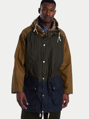 Barbour x Hikerdelic Whitworth Wax Jacket (Sand) 1