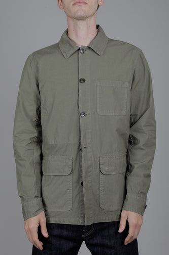 Barbour Quenton Casual Jacket (Light Moss) Model