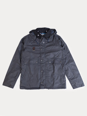 Barbour Speyside Wax Jacket (Navy)