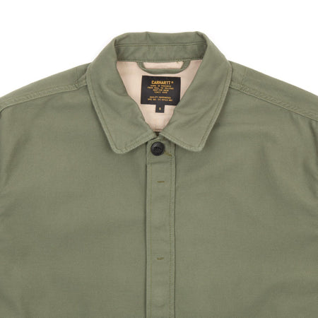Carhartt Anson Shirt Jac (Rover Green Stone Washed)2