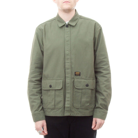 Carhartt Anson Shirt Jac (Rover Green Stone Washed)1