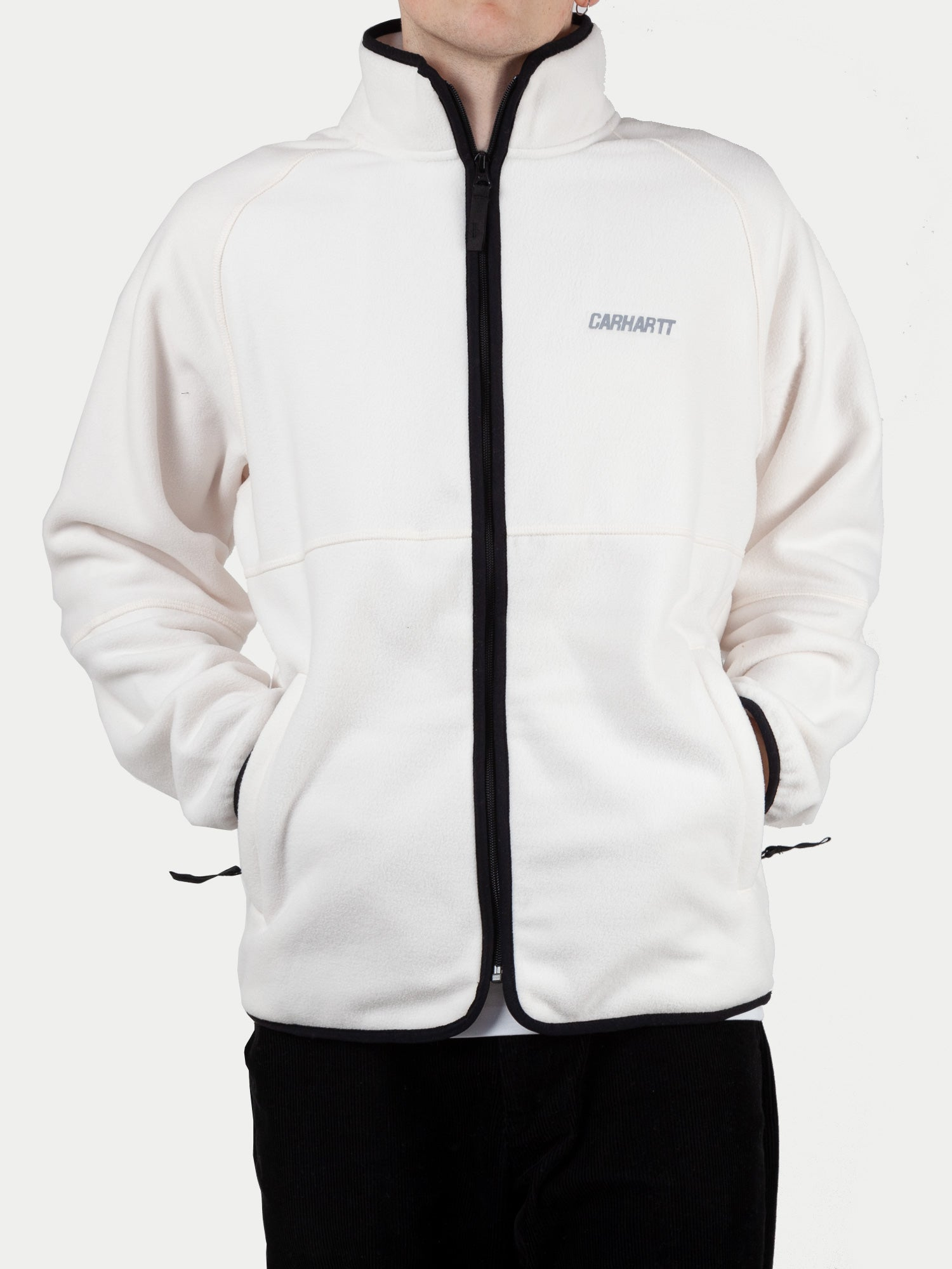 Carhartt Beaufort Jacket (Wax & Reflective Grey) m1