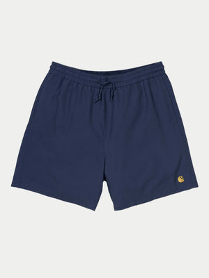 Carhartt Chase Swim Trunks (Metro Blue & Gold)