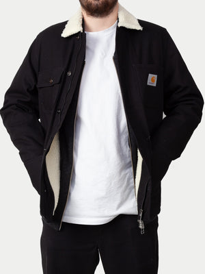 Carhartt Fairmount Coat (Black Rigid) 1