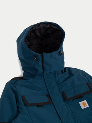 Carhartt Hendon Jacket (Duck Blue & Black) 2