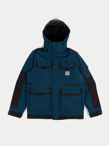 Carhartt Hendon Jacket (Duck Blue & Black) 1