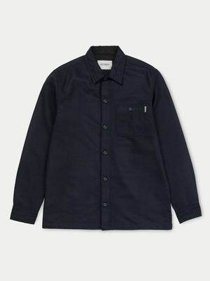 Carhartt Long Sleeve Stover Pocket Shirt (Dark Navy)