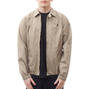 Carhartt Madison Jacket Cotton (Leather & Navy Rinsed)-4
