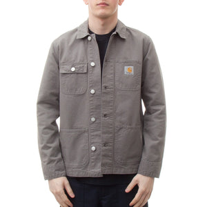 Carhartt Michigan Chore Coat (Air Force Grey)-4