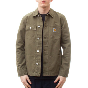 Carhartt Michigan Chore Coat (Rover Green)-4