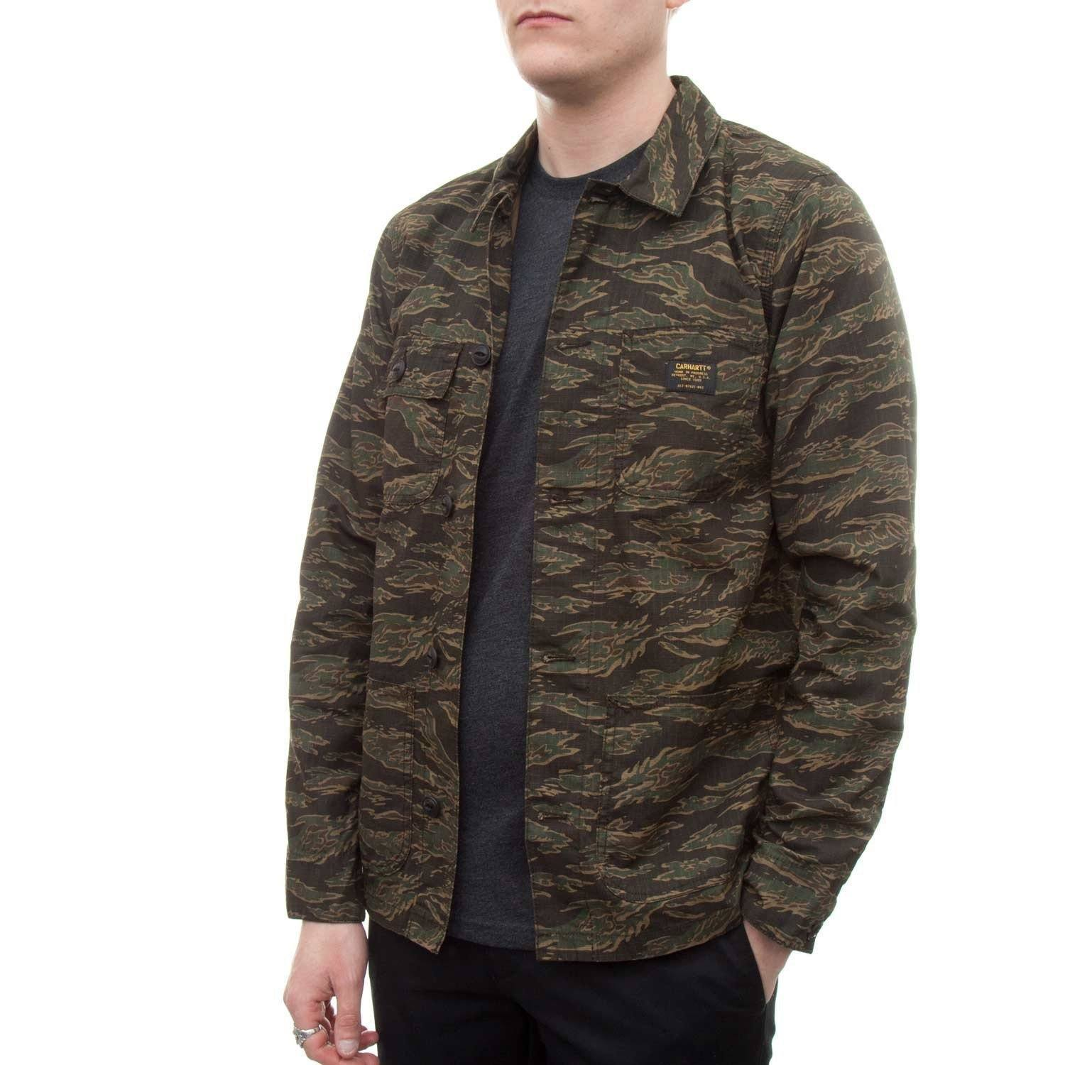 Carhartt Michigan Chore Jacket (Tiger Camo) - Number Six