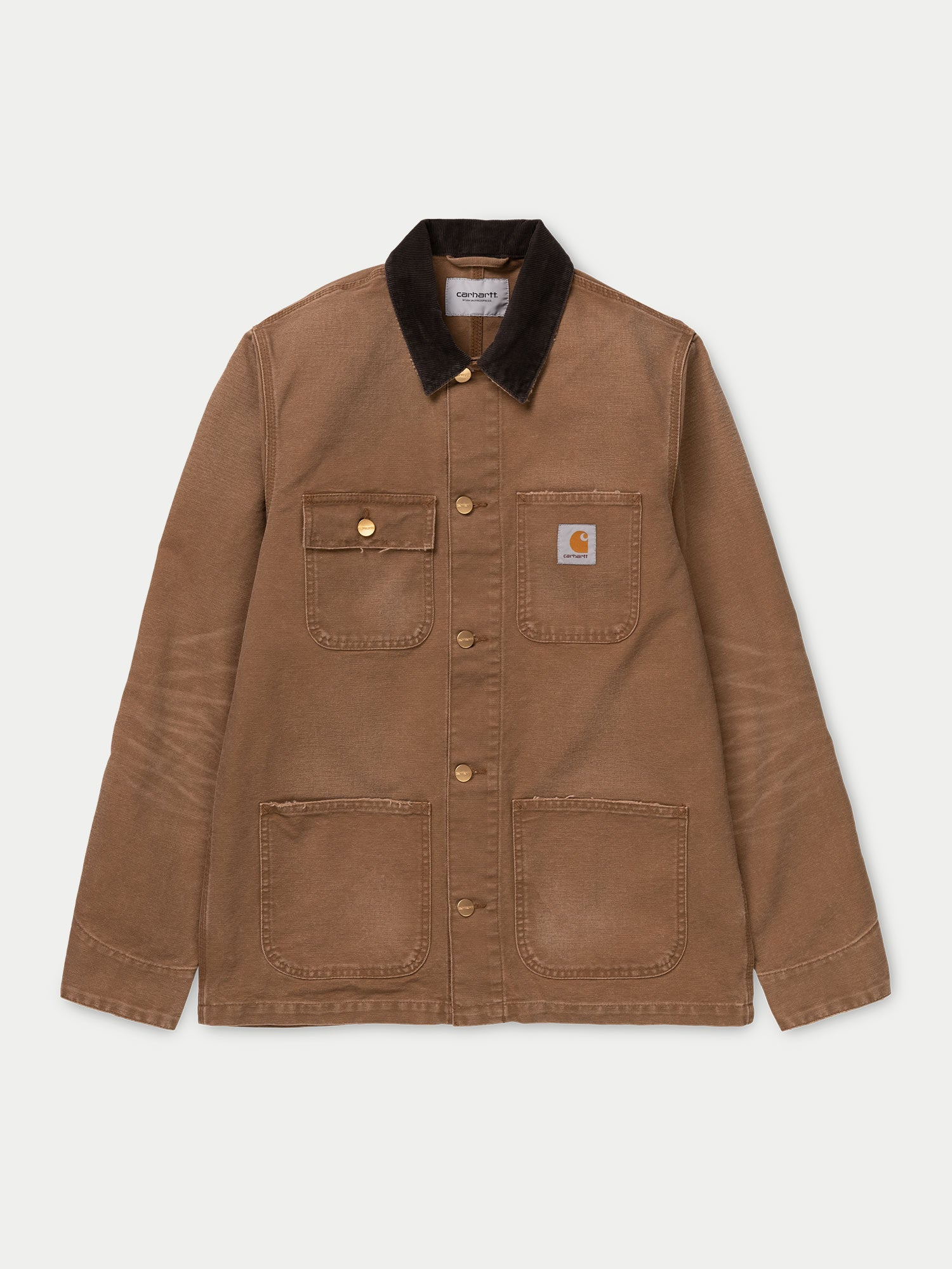 Carhartt Michigan Coat (Hamilton Brown Aged Canvas)