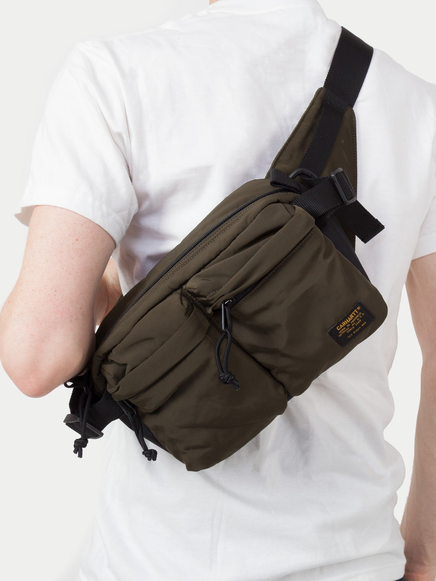 Carhartt Military Hip Bag (Cypress & Black) 33