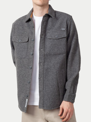 Carhartt Milner Shirt Jac (Dark Grey Heather) 1