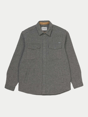 Carhartt Milner Shirt Jac (Dark Grey Heather) 2