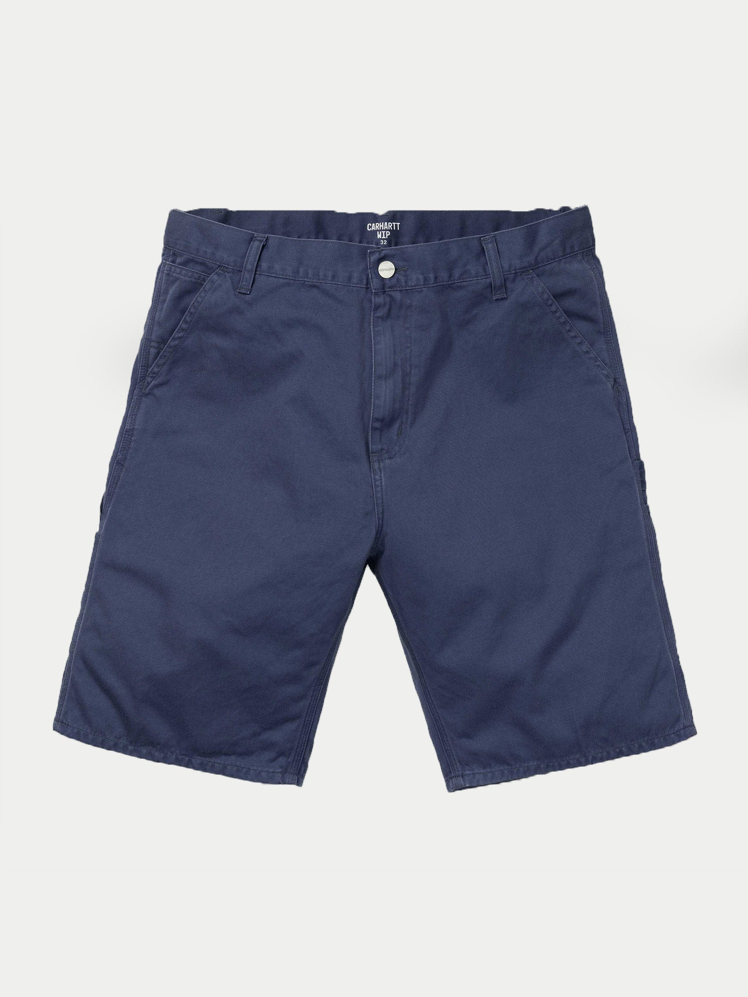 Carhartt Ruck Single Knee Shorts (Blue Stonewashed)