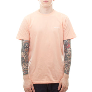 Carhartt Short Sleeve Embroidery T-Shirt (Peach) - Number Six
