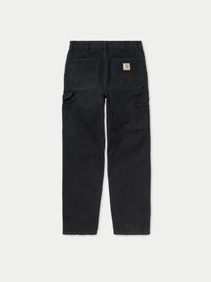 Carhartt Single Knee Pant (Black Aged Canvas) 1