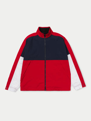 Carhartt Terrace Jacket (Dark Navy, Cardinal & White)