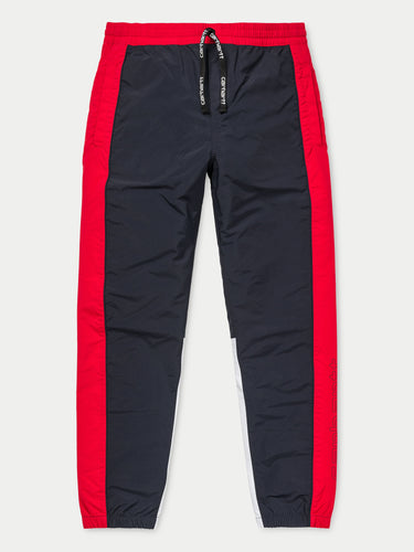 Carhartt Terrace Pants (Dark Navy, Cardinal & White)