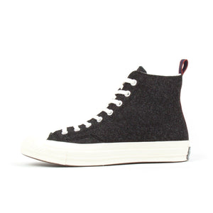 Converse Chuck Taylor All Star '70 Wool Hi (Black)2