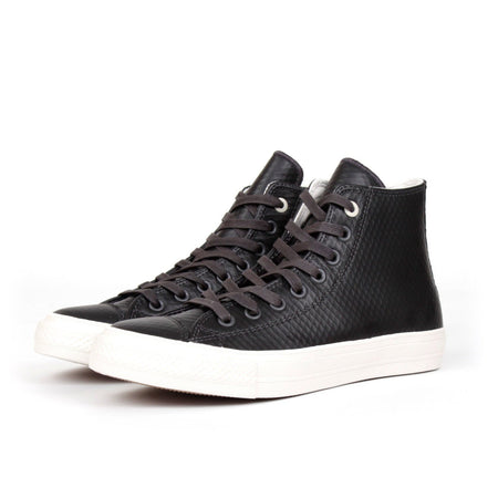 Converse Chuck Taylor II (Almost Black Mesh Back Leather) - Number Six