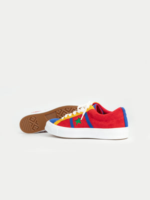 Converse One Star Academy Ox (Enamel Red, Blue & White)