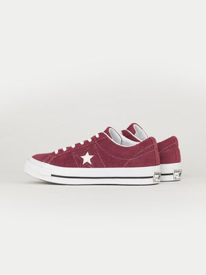 Converse One Star Ox (Deep Bordeaux)