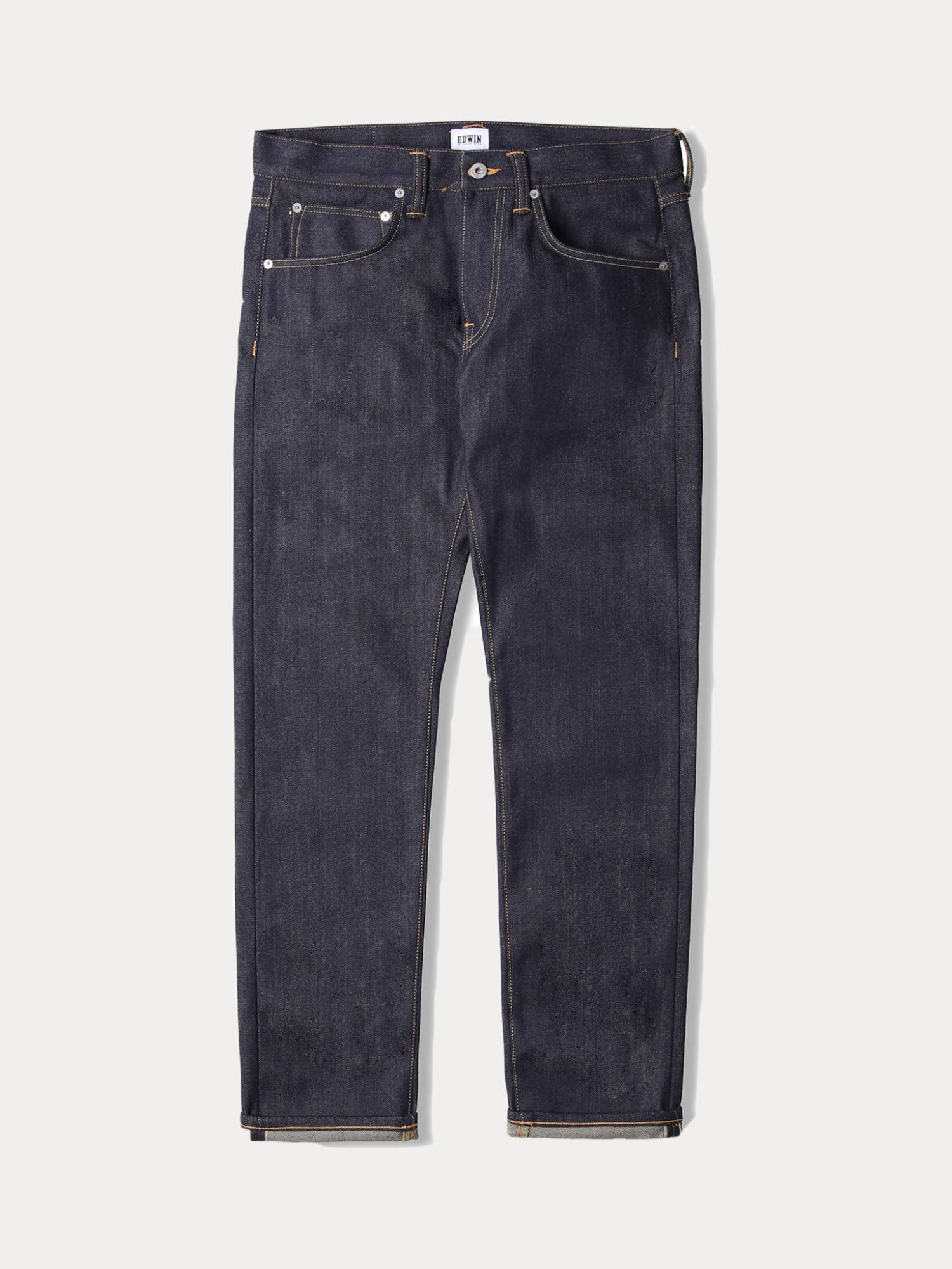 Edwin ED-55 12.8oz Rainbow Selvage Jeans (Unwashed)
