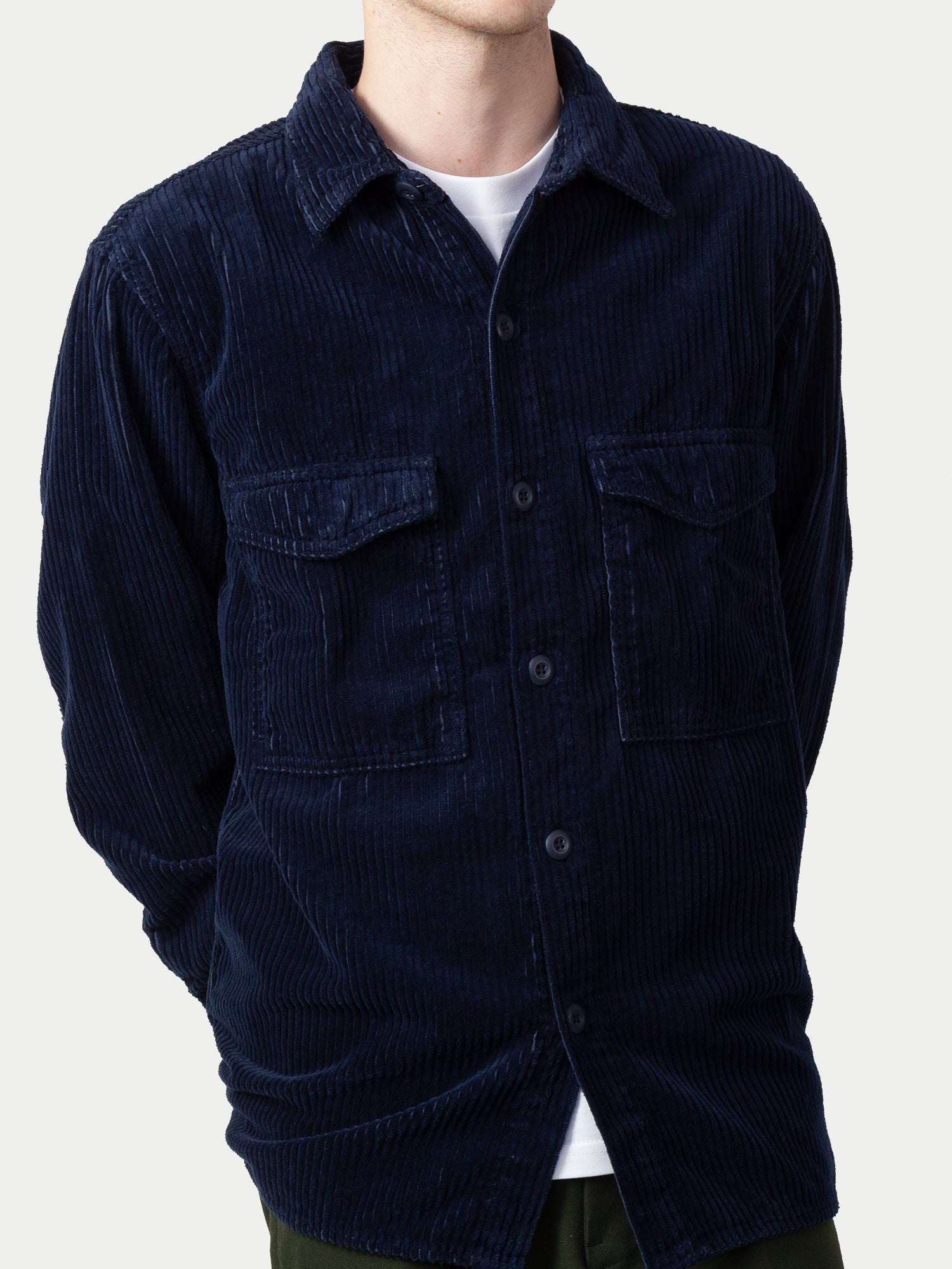Edwin Big Shirt (Dress Blue) 1