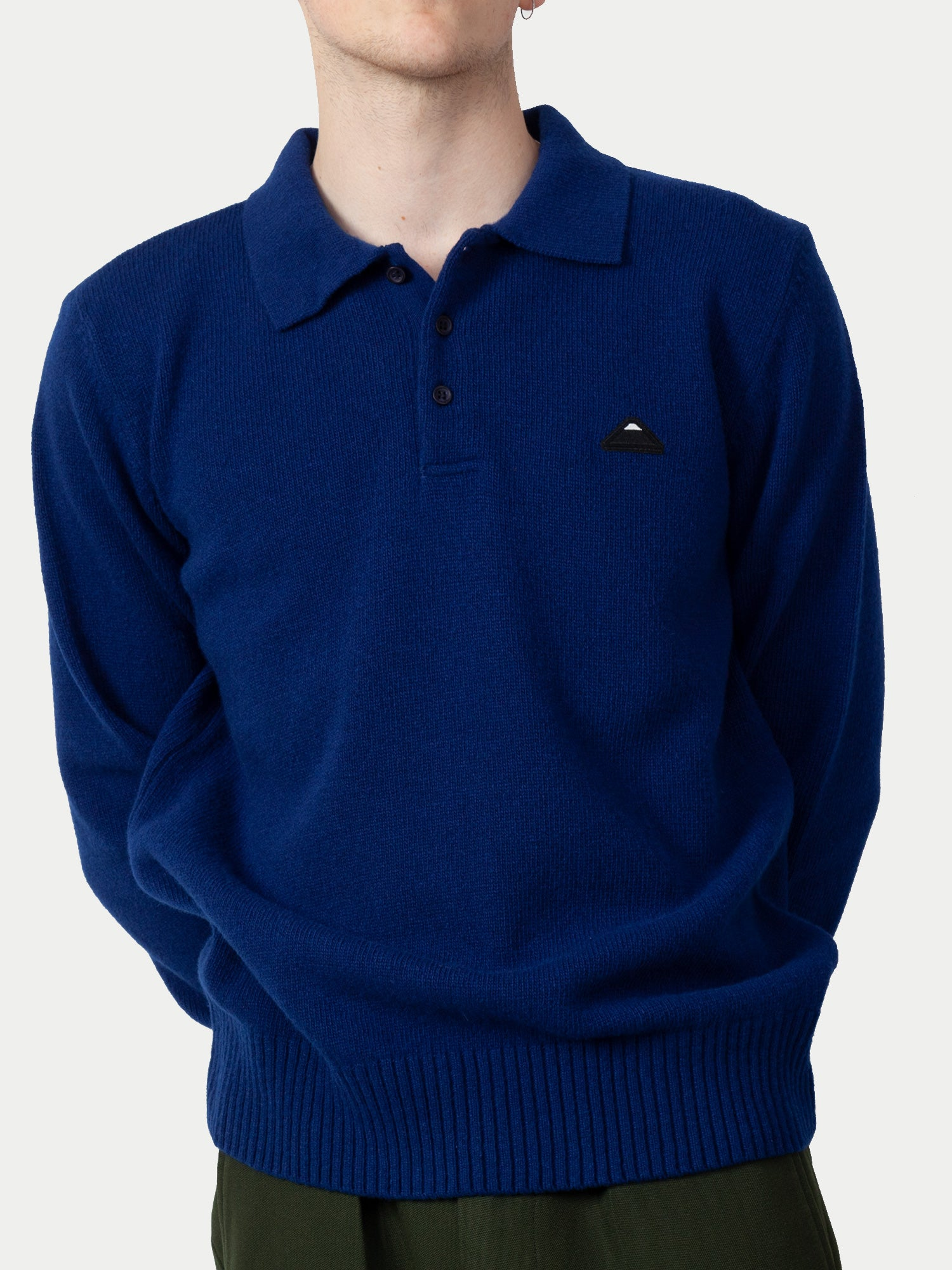 Edwin Don Polo Sweater (Mazarine Blue) 1