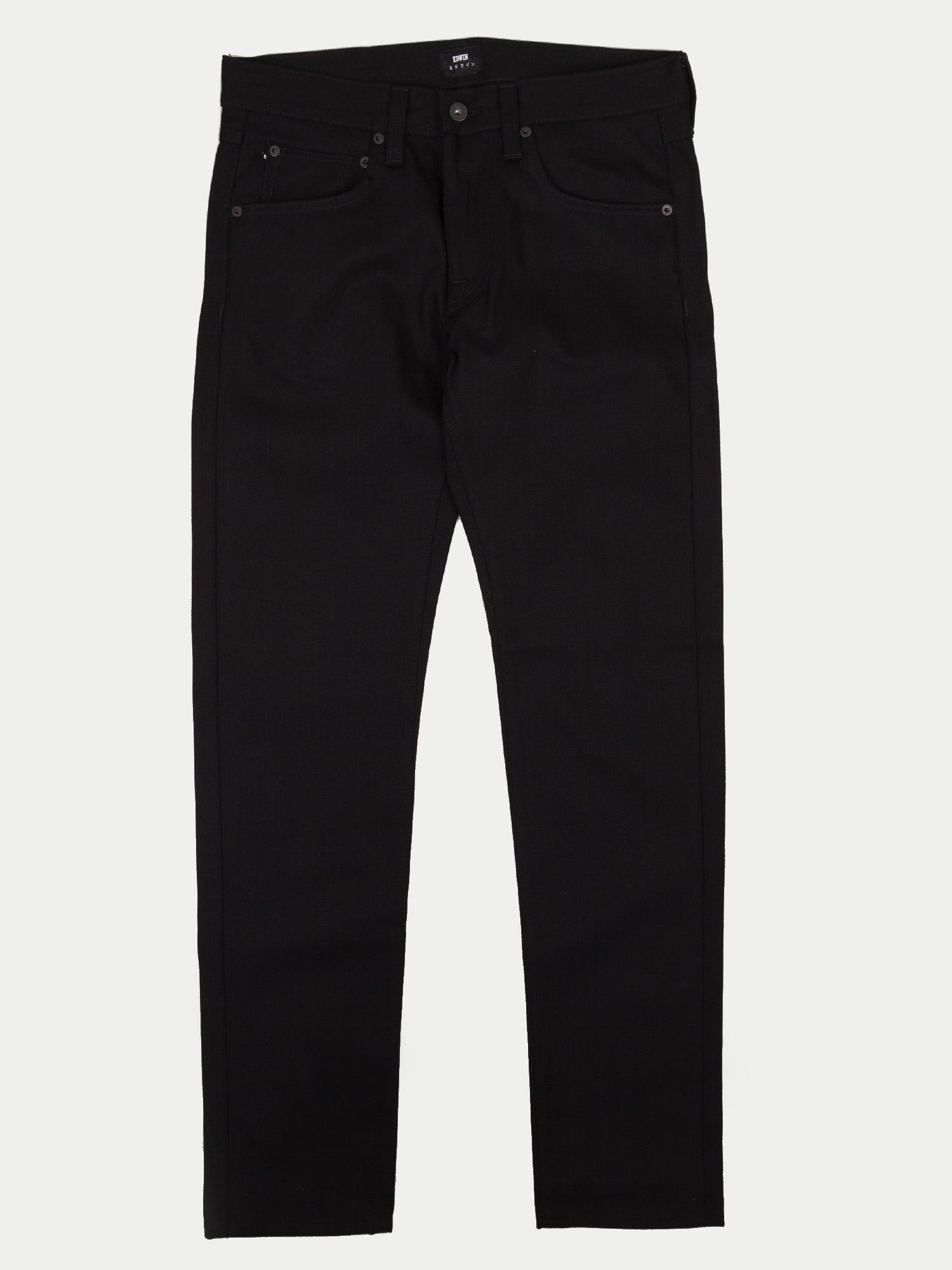 Edwin ED-55 13.5oz Red Selvage Jeans (Black)