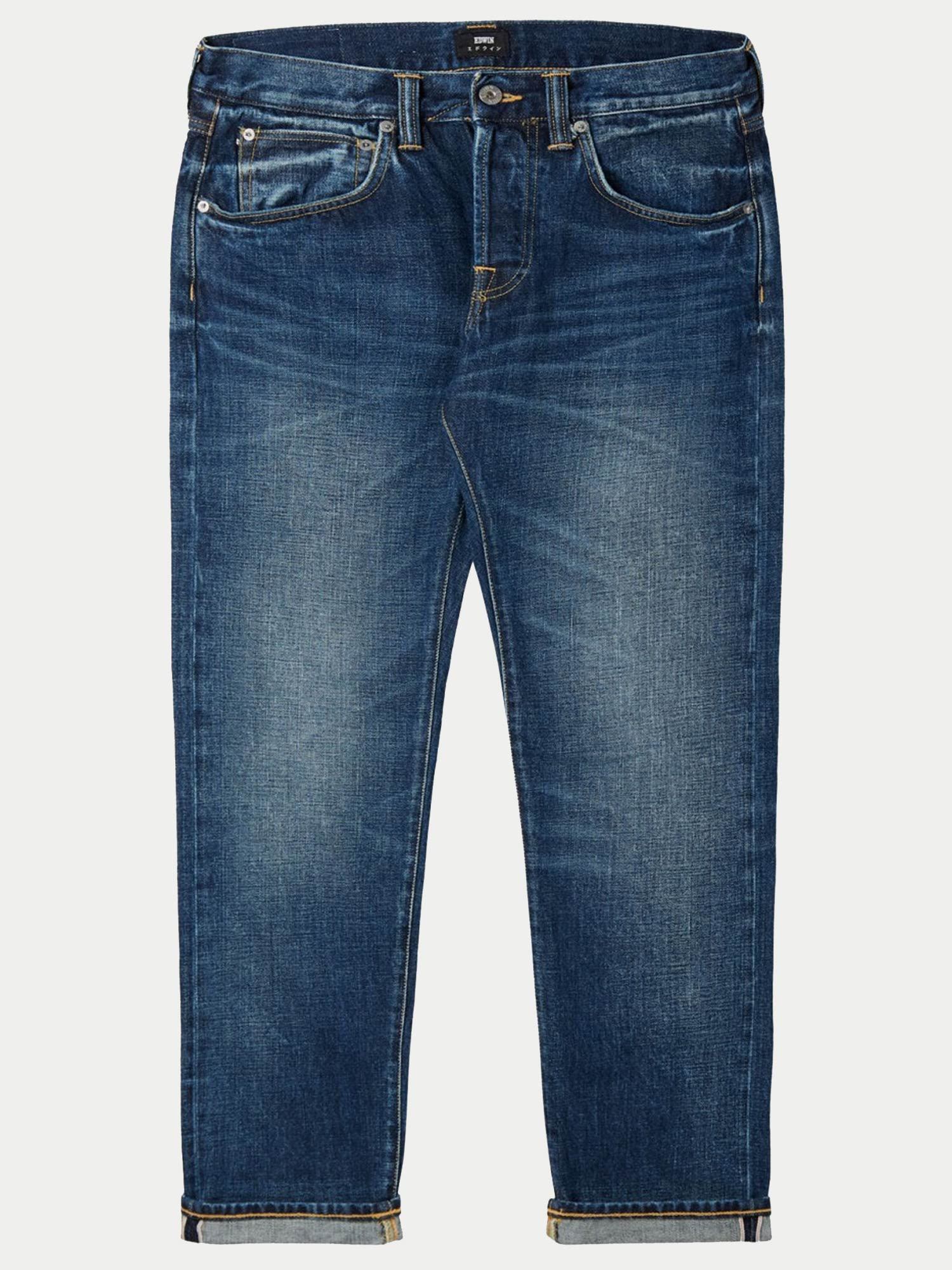 Edwin ED-55 14oz Red Selvage Jeans (Contrast Clean Wash)