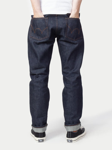 Edwin Japan Regular Tapered Rainbow Selvage Jeans (Kaihara Raw State) 1