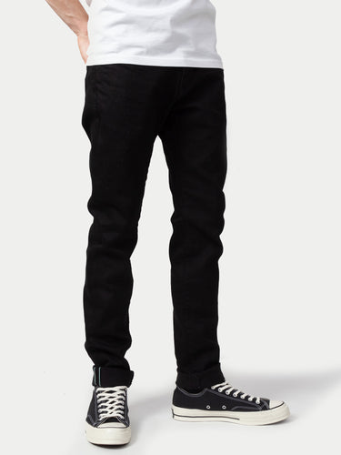 Edwin Japan Slim Tapered Green Selvage Jeans (Kaihara Black Rinsed) 1