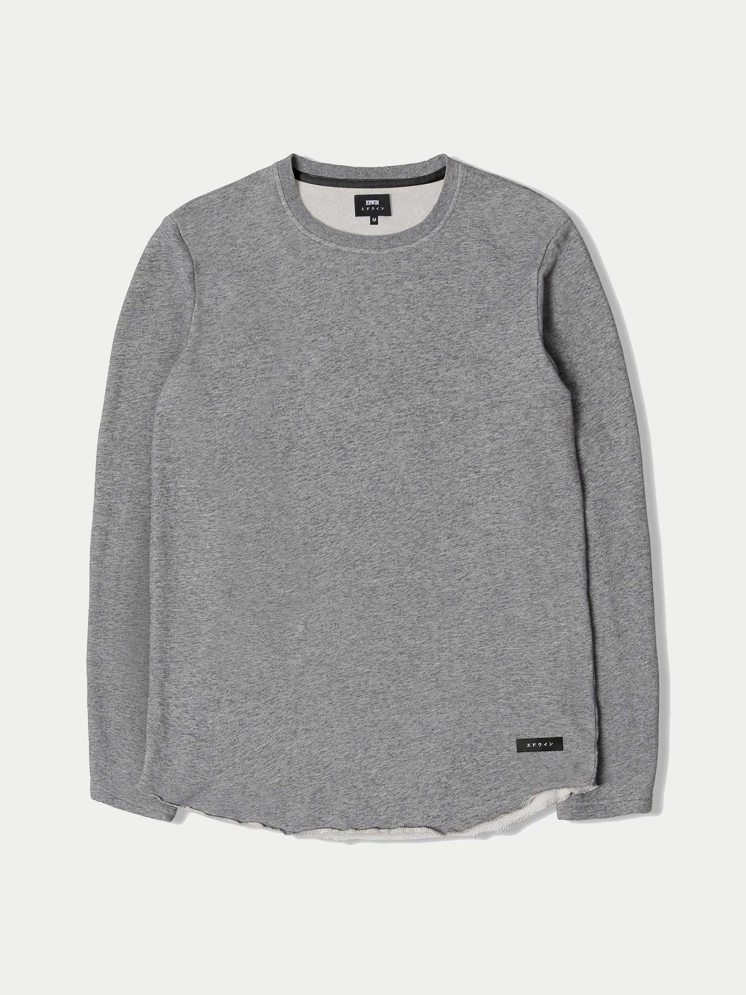 Edwin Terry L/S T-Shirt (Grey Marl)