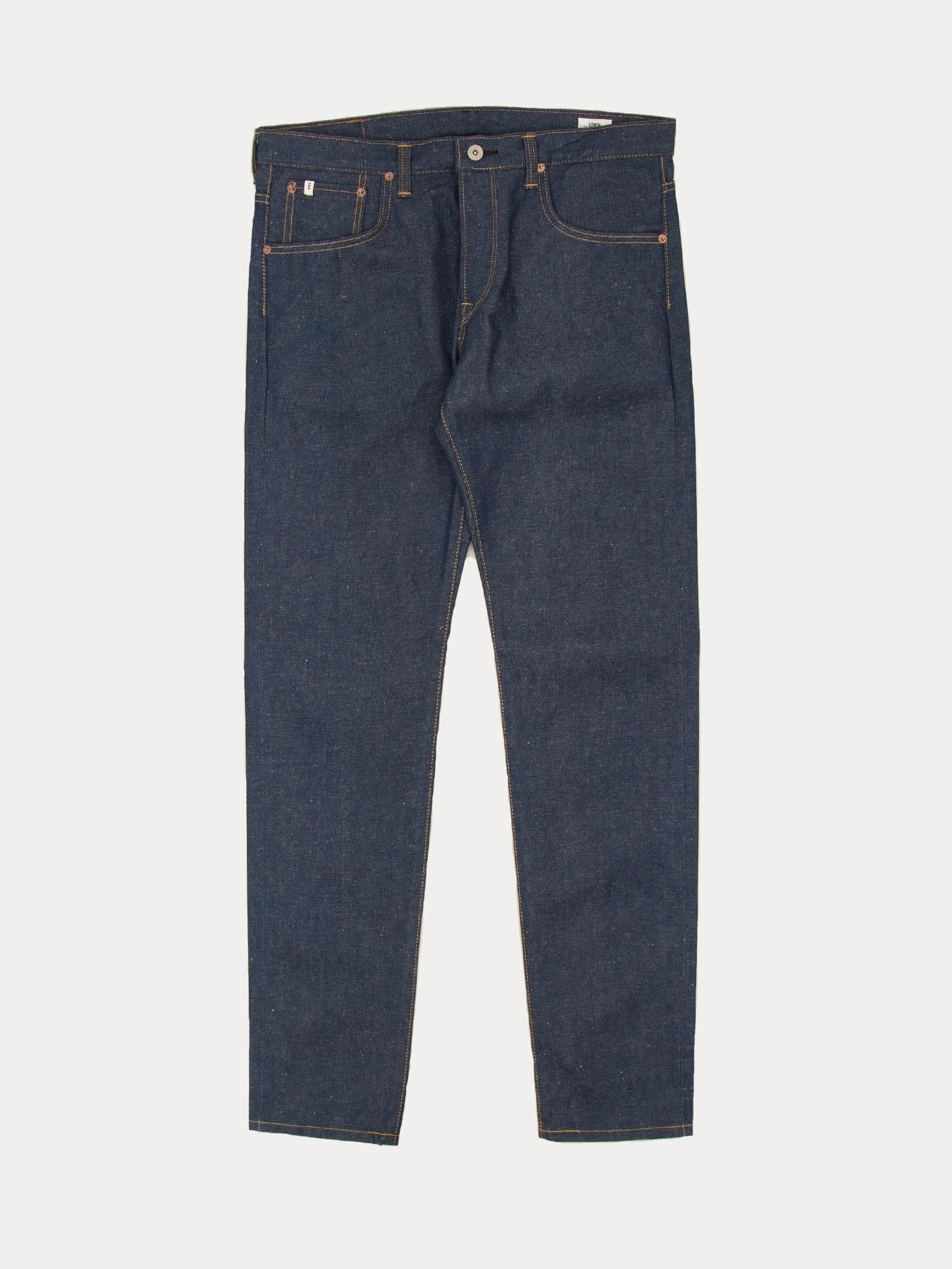 Edwin Classic Regular Tapered Blue Denim Nep (Navy Selvage Raw State)