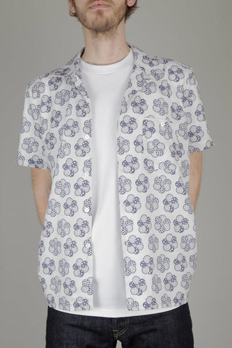 Far Afield Selleck Short Sleeve Shirt (Patch Floral)