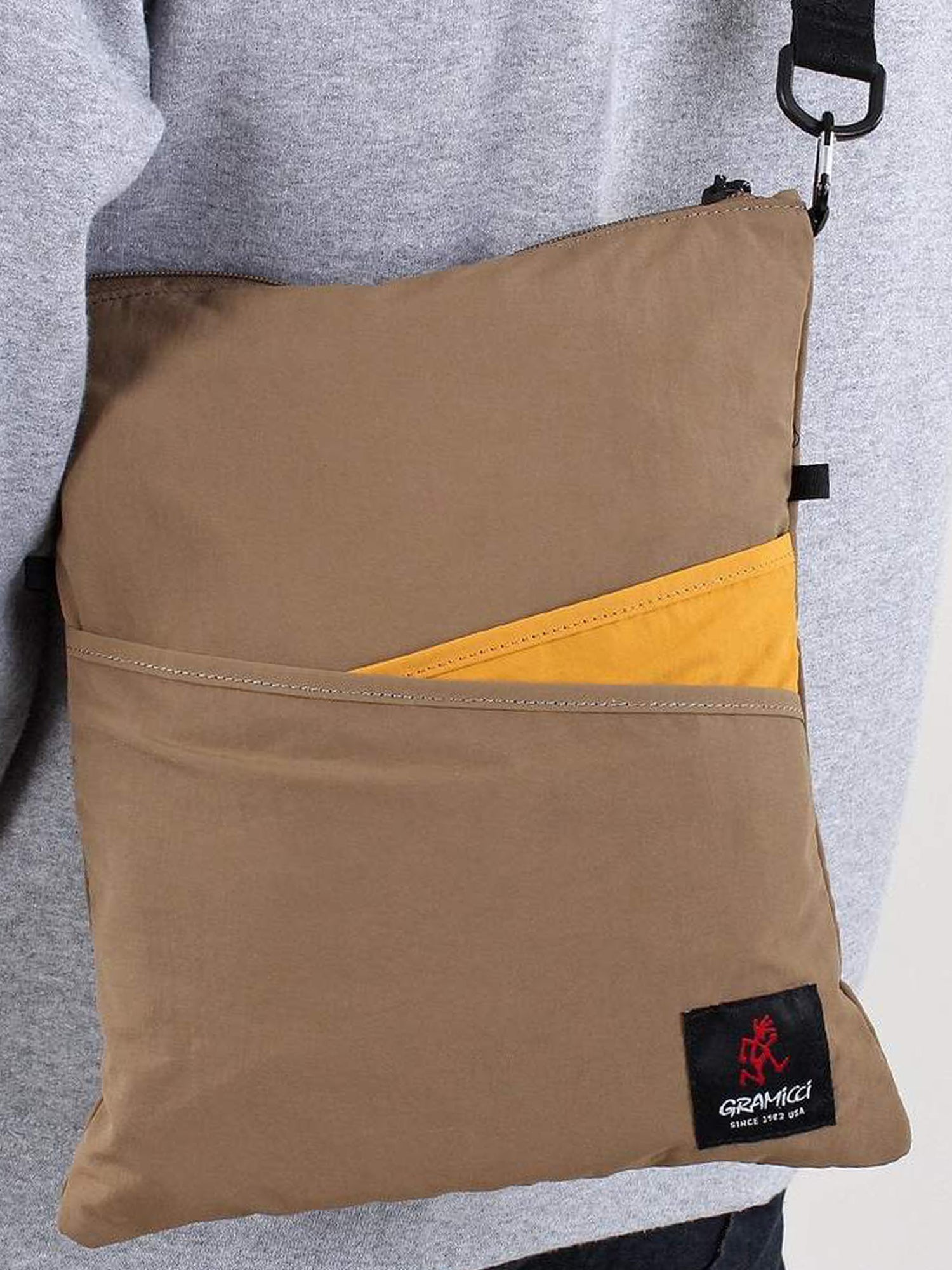Gramicci 2Way Sacoche Bag (Tan)