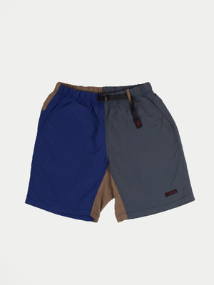 Gramicci Shell Packable Shorts (Navy & Charcoal) 1