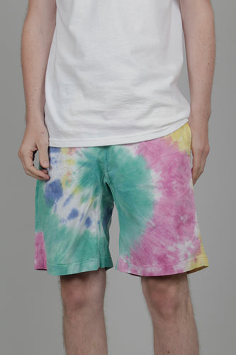 Gramicci Tie Dye G-Shorts Organic Cotton Twill (Rainbow) Front