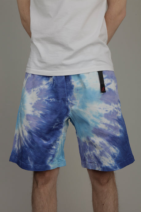 Gramicci Tie Dye G-Shorts (Blue Psychedelic)
