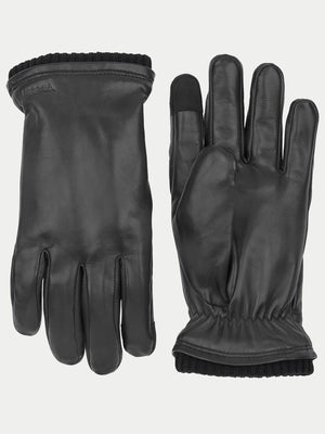 Hestra John Touchscreen Gloves (Black) 1