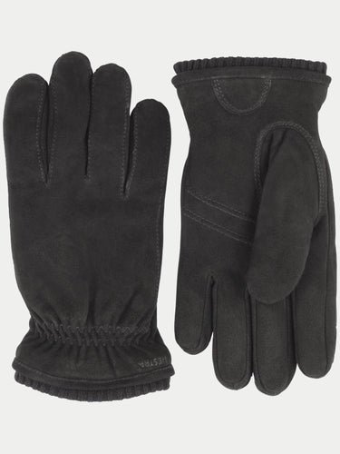 Hestra Nathan Gloves (Black Suede)