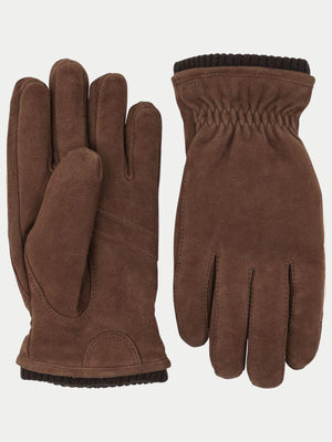 Hestra Nathan Gloves (Brown Suede)