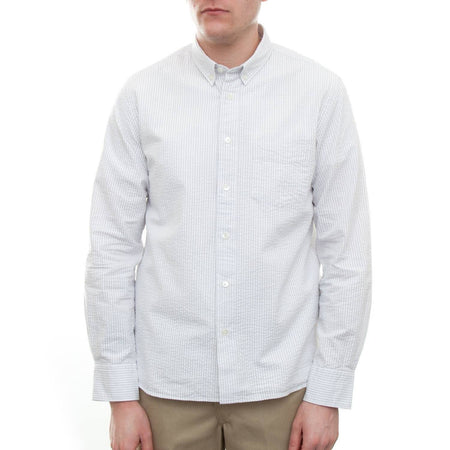La Paz Branco Shirt (Grey Stripe)