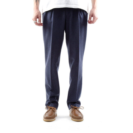 La Paz Classic Flannel Trousers (Old Blue Mesc)
