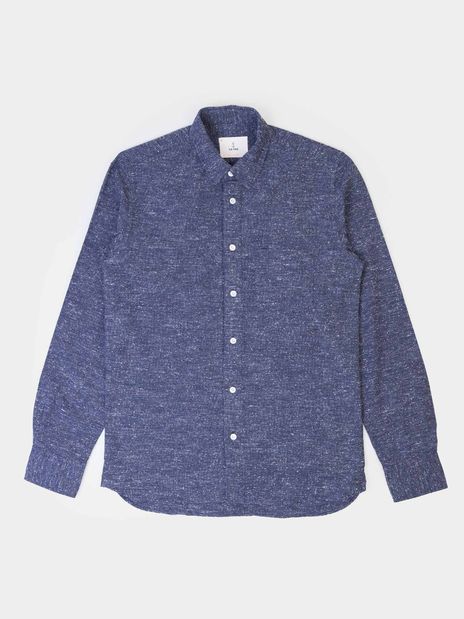La Paz Lopes Shirt (Navy Mesc)