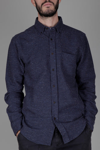 Portuguese Flannel Rude Shirt (Blue)
